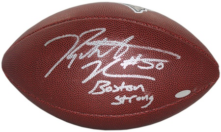 Rob Ninkovich Signed Football