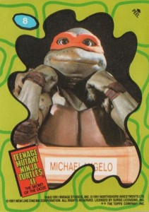 A Brief History of Teenage Mutant Ninja Turtles Trading Cards 8