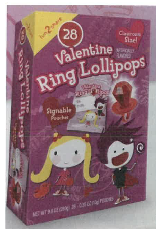 Law of Cards: Topps Sues Maker of Alleged Knock-Off Ring Pops 2
