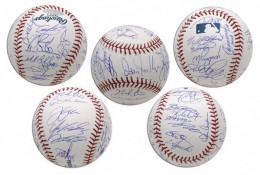 White Sox Team Signed Baseball