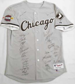 White Sox Team Signed Jersey