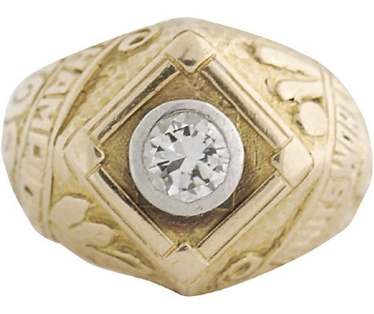 1922 New York Giants World Series Ring