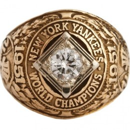1951 New York Yankees World Series Ring