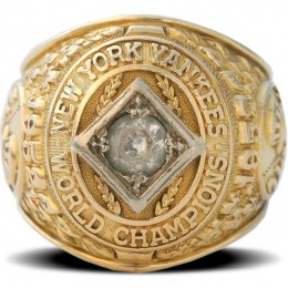 1952 New York Yankees World Series Ring