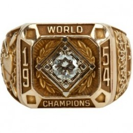 1954 New York Giants World Series Ring