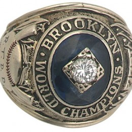 1955 Brooklyn Dodgers World Series Ring