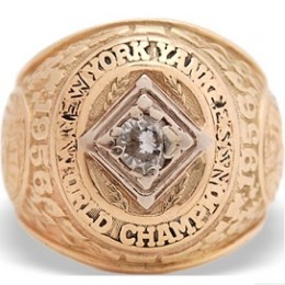 1956 New York Yankees World Series Ring
