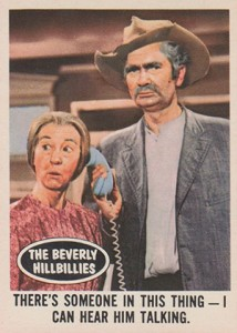 1963 Topps Beverly Hillbillies Trading Cards 21
