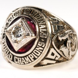 1964 St. Louis Cardinals World Series Ring