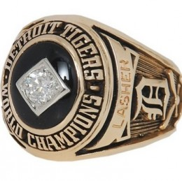 1968 Detroit Tigers World Series Ring