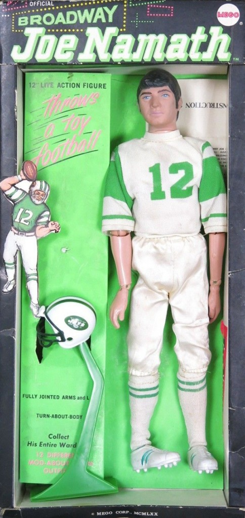 This Mego Joe Namath Doll Is Pure Vintage Swagger 1