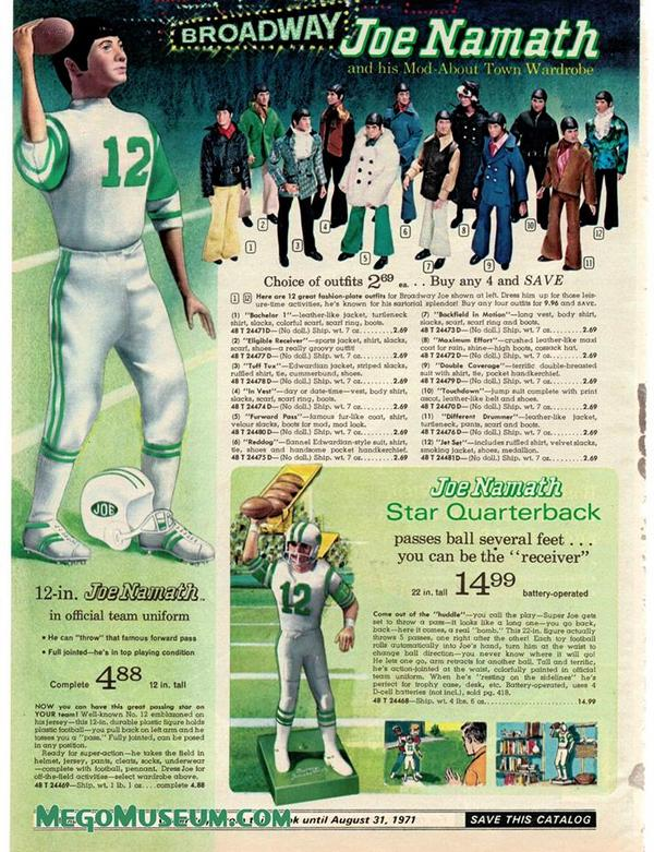 This Mego Joe Namath Doll Is Pure Vintage Swagger 6