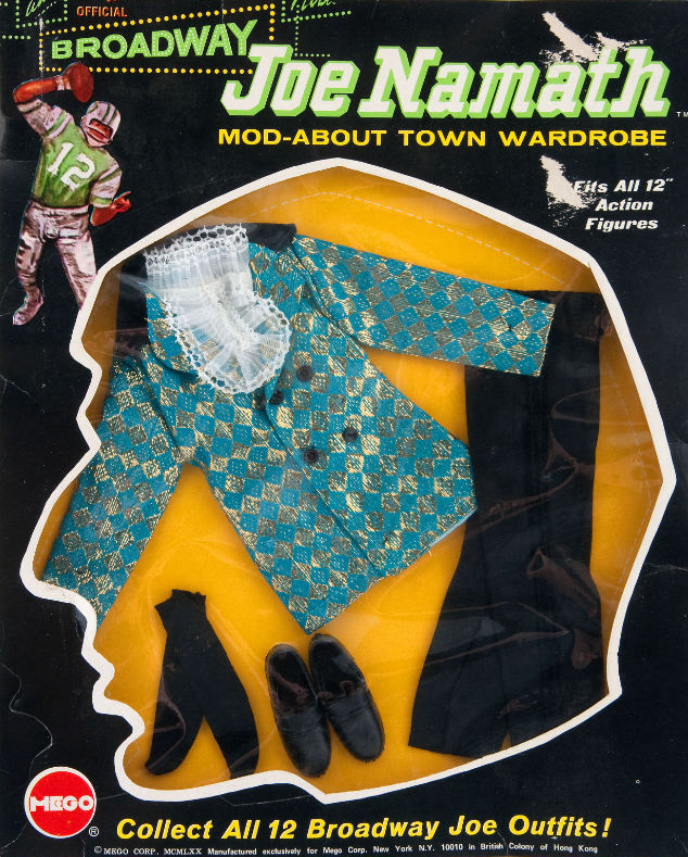 This Mego Joe Namath Doll Is Pure Vintage Swagger 5