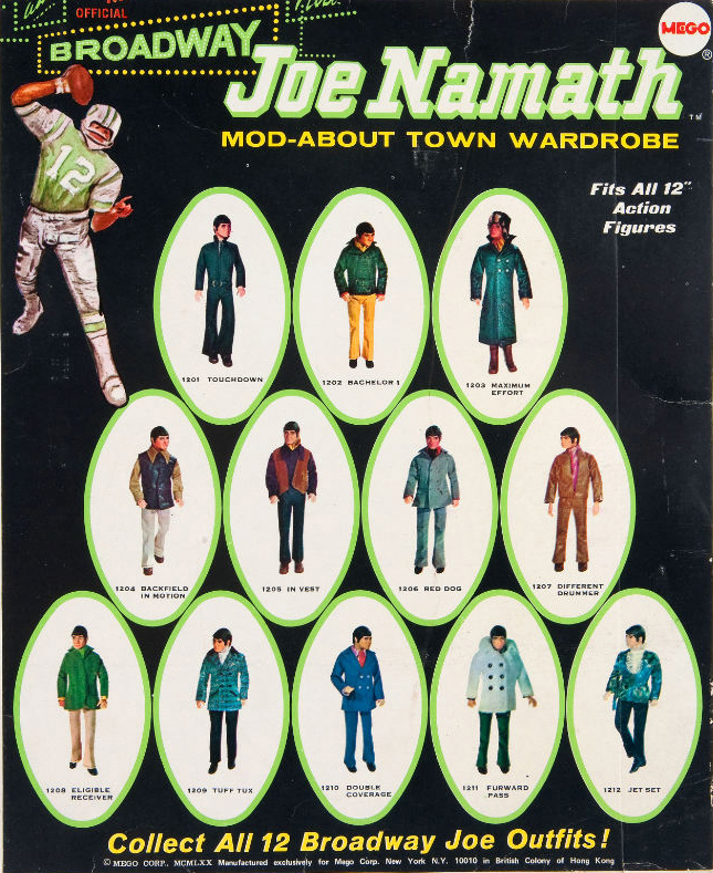 This Mego Joe Namath Doll Is Pure Vintage Swagger 4