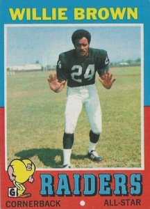 1971 Topps Willie Brown
