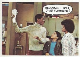 1975 Topps Good Times Base Jive Turkey
