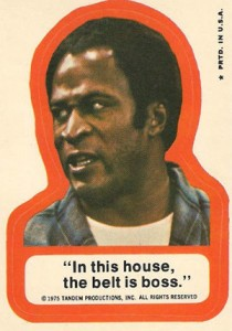 1975 Topps Good Times Trading Cards 3