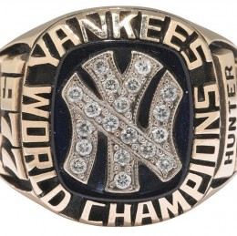 1977 New York Yankees World Series Ring