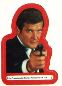 1979 Topps Moonraker Stickers 1