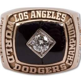 1981 Los Angeles Dodgers World Series Ring
