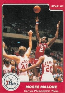 1984-85 Star Moses Malone