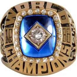 1986 New York Mets World Series Ring
