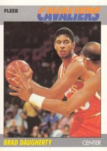 1987-88 Fleer Brad Daugherty RC