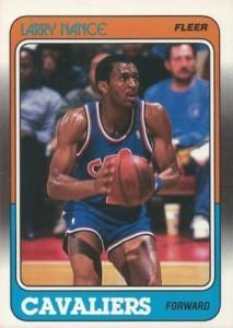 1988-89 Fleer Larry Nance RC #24