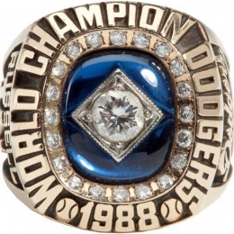1988 Los Angeles Dodgers World Series Ring