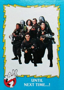 1989 Topps Ghostbusters II Trading Cards 22