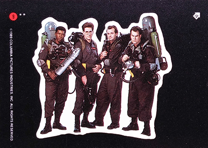 1989 Topps Ghostbusters II Trading Cards 23