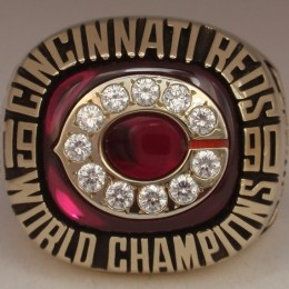 1990 Cincinnati Reds World Series Ring