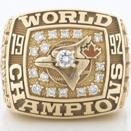 1992 Toronto Blue Jays World Series Ring