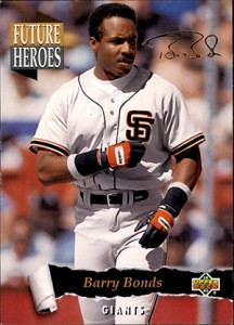 1993 Upper Deck Baseball Future Heroes Barry Bonds