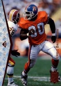 1995 SP Terrell Davis RC #130