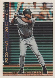 Derek Jeter Topps Cards Checklist 1993 2015 Gallery List