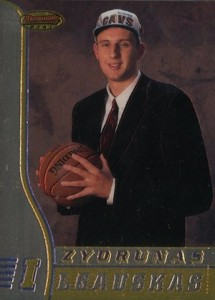 1996-97 Bowman's Best Zydrunas Ilgauskas RC