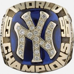 1996 New York Yankees World Series Ring