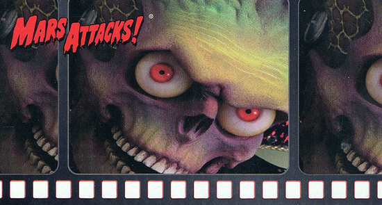 1996 Topps Mars Attacks Widevision Trading Cards 24