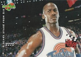 1996 Upper Deck Space Jam Series 1 Base Card 56 Michael Jordan