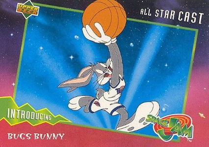 1996-97 Upper Deck Space Jam Trading Cards 4