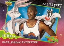 1996 Upper Deck Space Jam Series 1 SJ1