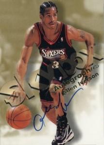 1998-99 Skybox Autographics Allen Iverson