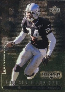 1998 Black Diamond Charles Woodson RC