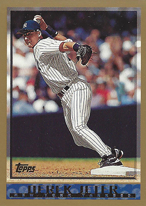 Derek Jeter Topps Cards Through the Years 6