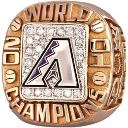 2001 Arizona Diamondbacks World Series Ring
