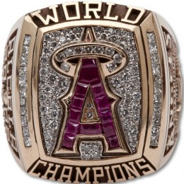 2002 Anaheim Angels World Series Ring