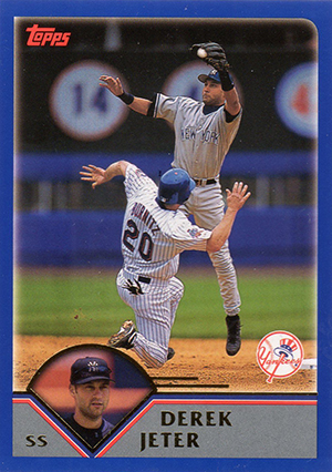Derek Jeter Topps Cards Through the Years 11