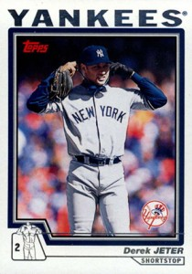 Derek Jeter Topps Cards Through the Years 18