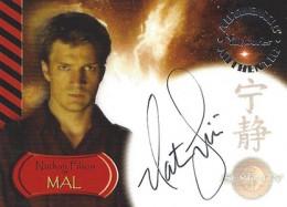 2005 Inkworks Serenity Autographs Nathan Fillion